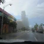 Det regnar även i Florida!