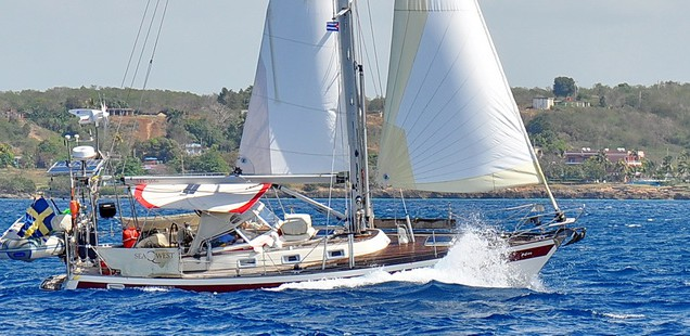 Inshore sailing in southern Cuba
